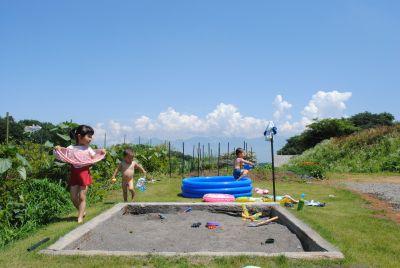 オープン保育「シャボン玉で遊ぼう!」